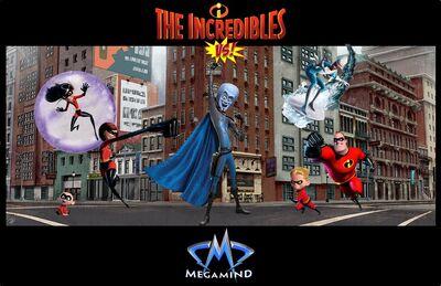Incredibles vs megamind by aradrath-d7i4bit