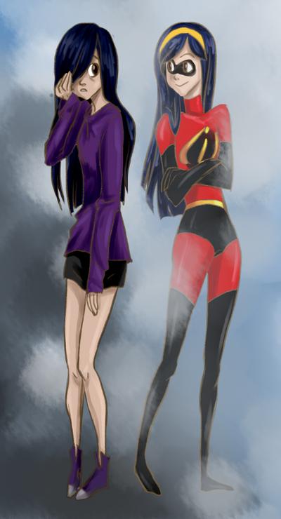 Incredibles - violet by kasadija957-d4twvn7