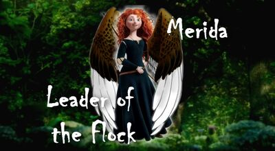 Merida, leader of the flock (Maximum Ride AU)