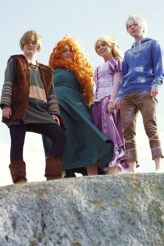 File:The big four hiccup merida rapunzel and jack .jpg