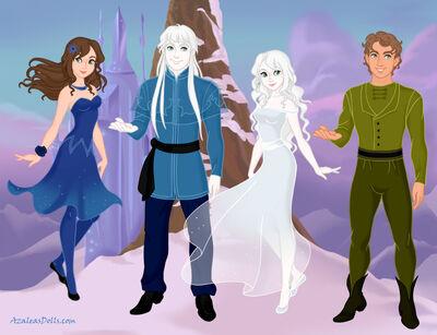 Spiritina and her friends