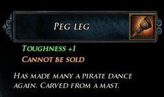 Peg Leg Description