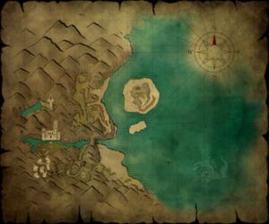 Crab coast map