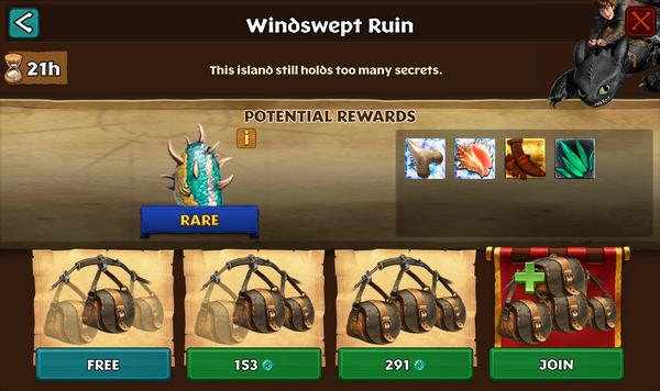 Windswept Ruin