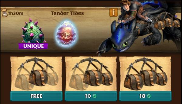 Tender Tides (Stormfly's Mate)