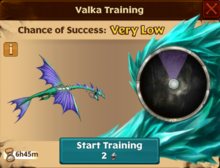 Battle Sliquifier Valka First Chance