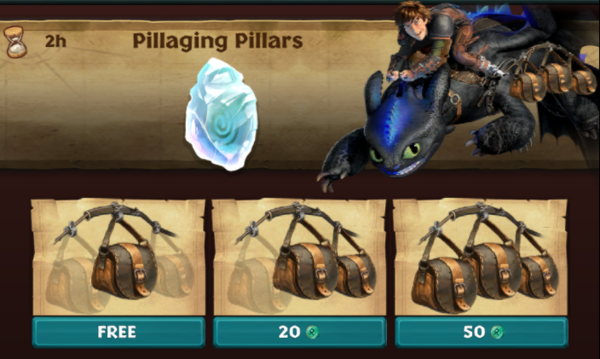 Pillaging Pillars