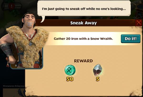 Sneak Away