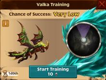 Seedling Night Terror Valka First Chance