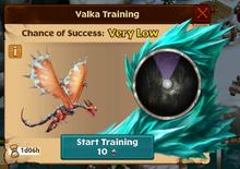 Coldsnap Valka First Chance