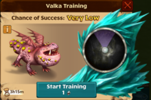 Meatlug's Offspring Valka First Chance