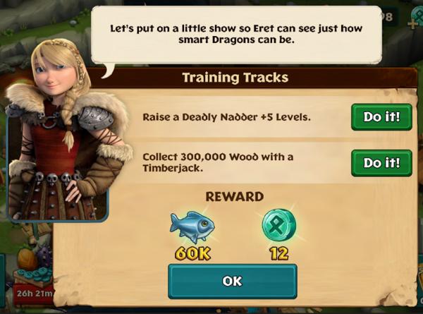 Training tracks
