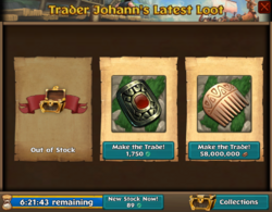 Trader Johann items
