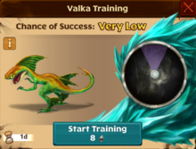 Seedling Speed Stinger Valka First Chance