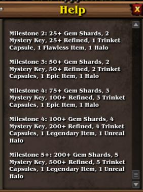 Recruit rewards