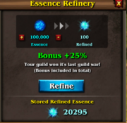 Refined essence