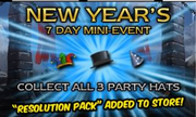 New years event