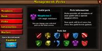Guild Perks
