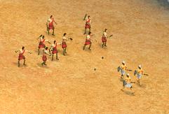 Slingers Attacking Hoplites