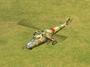 Mi-24 Hind-D model
