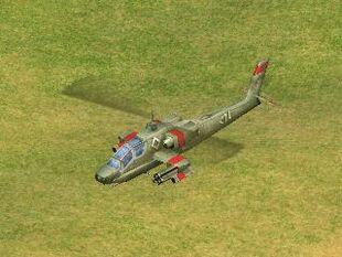 AH-64 Apache model