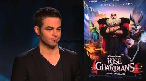 INTERVIEW Chris Pine on the Christmas Dilemma pop quiz a...