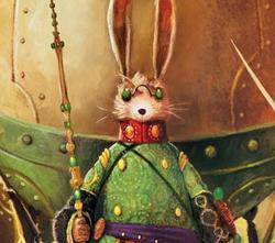 Bunnymund in the books