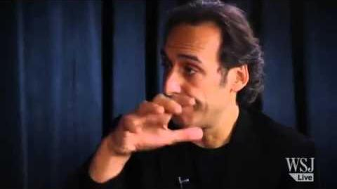 Alexandre Desplat Composer, Rise of the Guardians