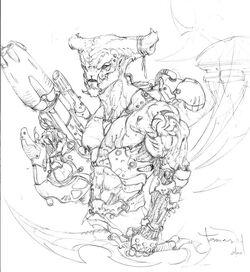 Hammerhead mercenary by tdm studios