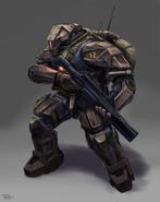 Goleroid Armor Trooper