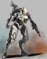 Andromeda Forward Assault Mech