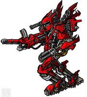 Red mech