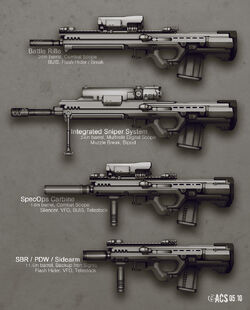Adapted Rifle Variants by Shimmering Sword