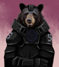 Armored Bear by codexier
