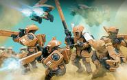 Goleroid Troopers