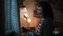 Season 1 Episode 10 The Lost Weekend Alice looking through window