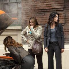 Dr. Maura Isles, Angela Rizzoli & Detective Jane Rizzoli