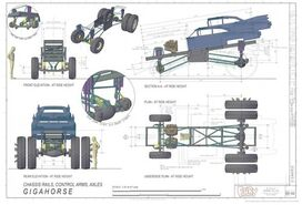 The Gigahorse Chassis Design