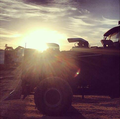 File:War Rig sunset.jpg