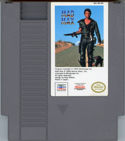 File:Mad max nes cartridge.png