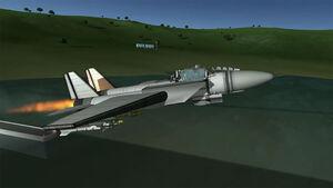 KWP 06 FU-15 Takeoff