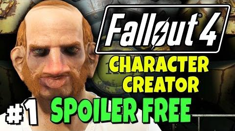 "Fallout 4 - Character Creator - Robert The Ginger 1 ""No Vault 111 Spoilers!"""