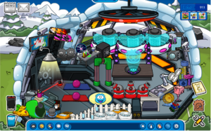The RPA Puffle Training Room