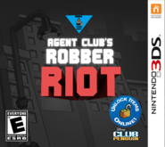 Agent Club's Robber Riot Cover 3DS