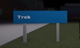 Trek sign