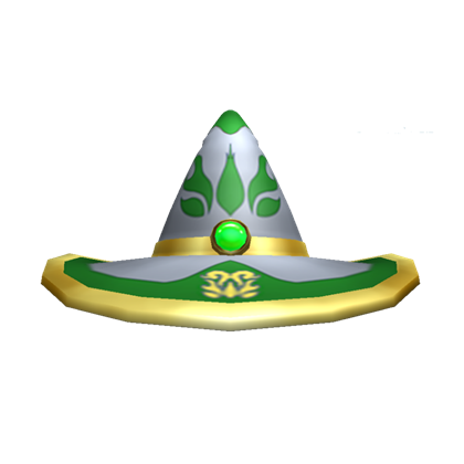 File:GreenWizardHat.png