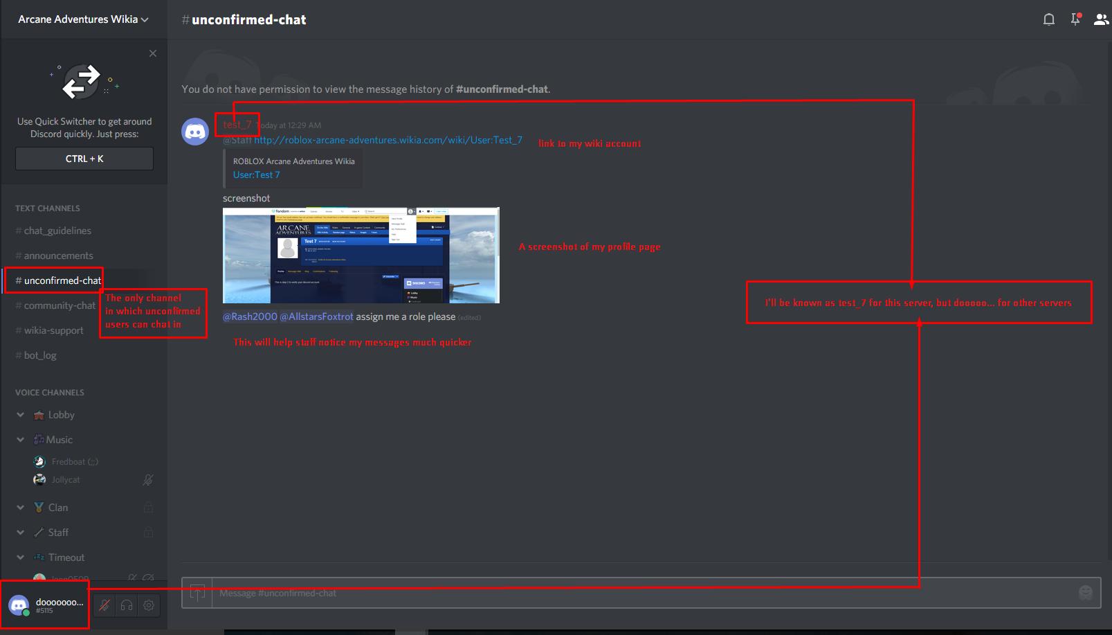 Roblox server discord