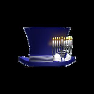 Blue Hanukkah