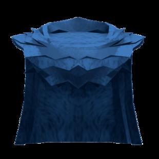 Large Blue Cloak