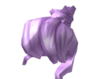 Lavender Updo Hair